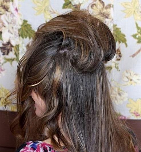 Coc elegant retro, pasul 2, Foto: sohappily.com