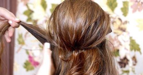 Coc elegant retro, pasul 4, Foto: sohappily.com