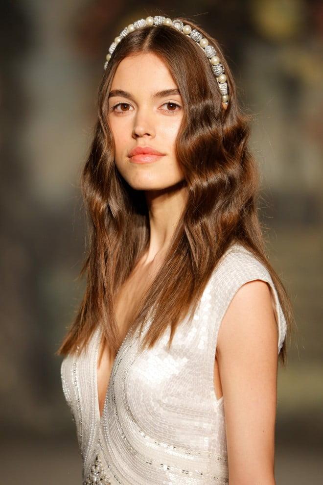 Coroniță în păr, Foto: dailymakeover.com