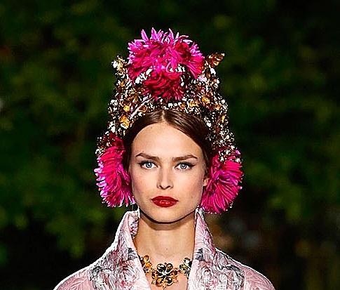 Dolce&Gabbana, colecția pentru toamna-iarna 2015-2016, Foto: treshautediva.com