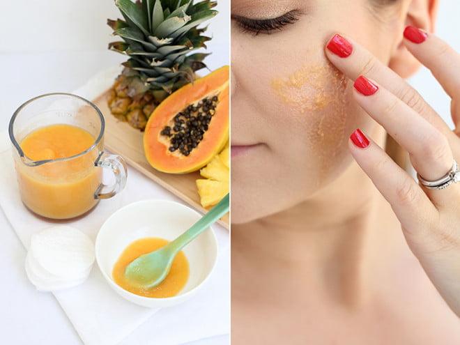 Enzimele îmbunătățesc aspectul pielii