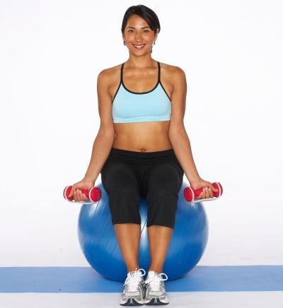 Exercițiu cu gantere pentru biceps, Foto: rope.workoutxl.com