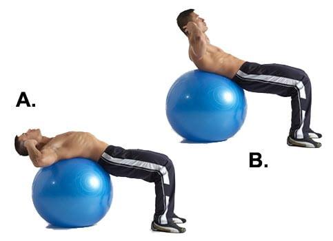 Exercițiu pentru mușchii abdominali, Foto: leanitup.com