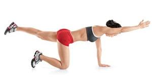 Exercițiu realizat în genunchi, Foto: womenshealthmag.com
