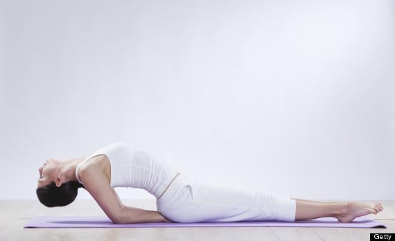 Exercițiu yoga pentru stimularea creierului, Foto: ideahack.me