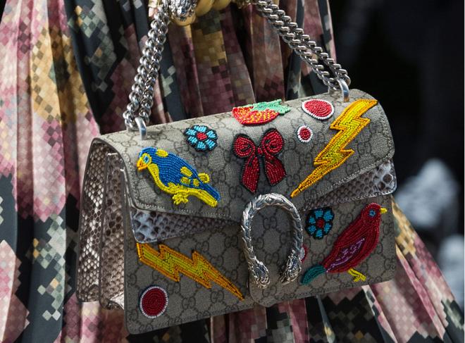 Geantă Gucci, Foto: ctrend.ru