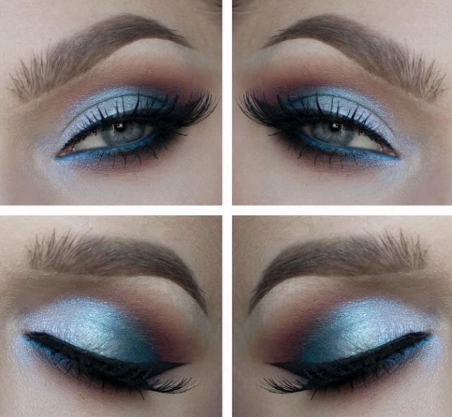 Idei de machiaj pentru ochi albaștri, Foto: banat7awa.com