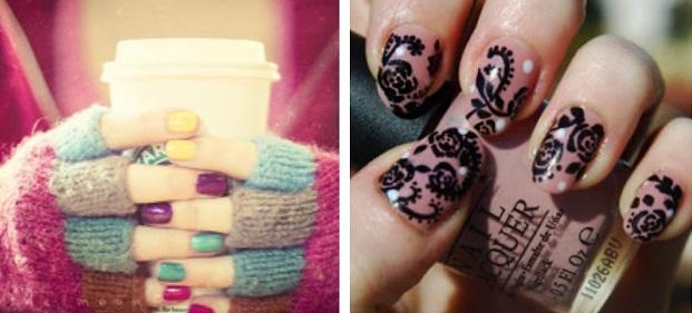 Idei de manichiură pentru unghii scurte, Foto: pinkmascarablog.com
