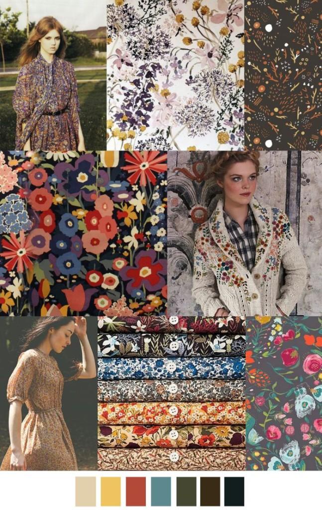 Imprimeuri florale în tendințele modei din anul 2017