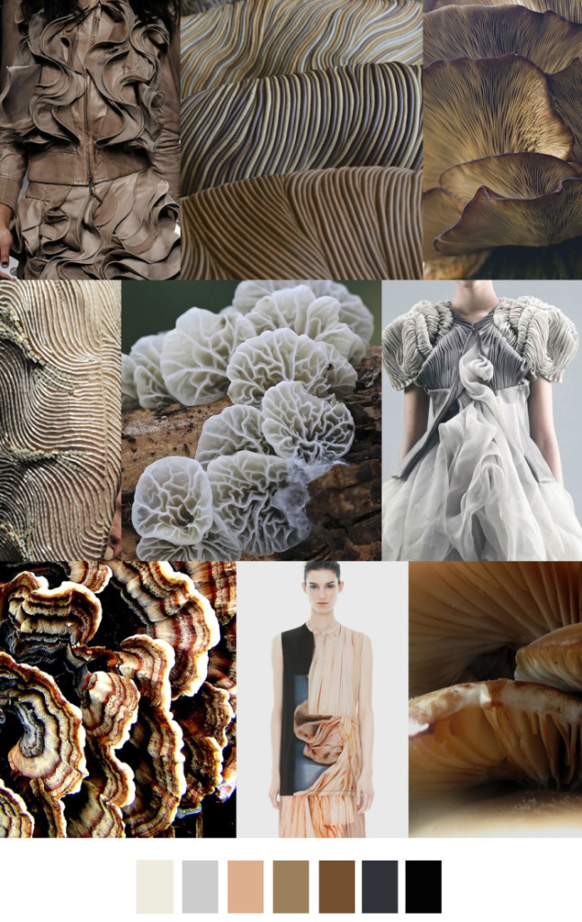 Imprimeuri inspirate din formele de nevertebrate marine, Foto: fashionvignette.blogspot.mx