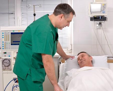 Insuficiență renală acută, îngrijirea bolnavului la spital, Foto: medicalj.ru