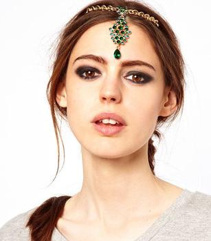 Lănţişoare cu medalion pentru păr, Foto: ru.aliexpress.com