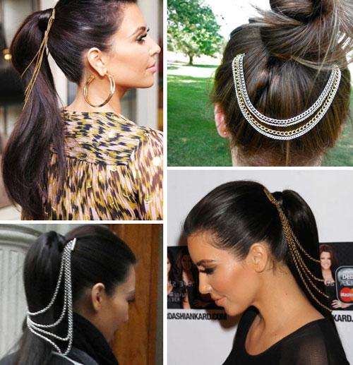 Lănţişoare pentru păr, Foto: treasurebox.ru