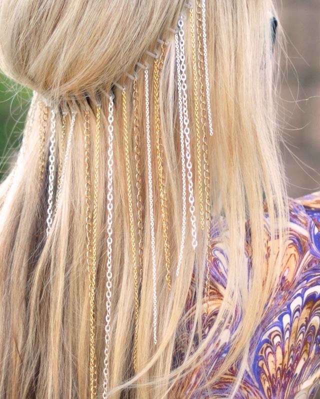Lănţişoare în păr, Foto: secondstreet.ru