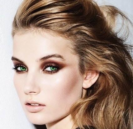 Machiaj în nuanțe de bronz, Foto: maquillage-soiree.com