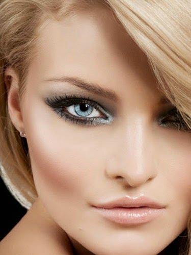 Machiaj deosebit pentru femei blonde cu ochi albaștri, Foto: banat7awa.com