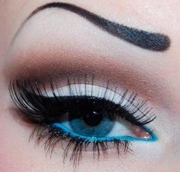 Machiaj elegant pentru ochi albaștri