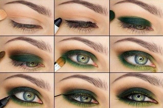 Machiaj elegant pentru ochi verzi, Foto: i2.asntown.net