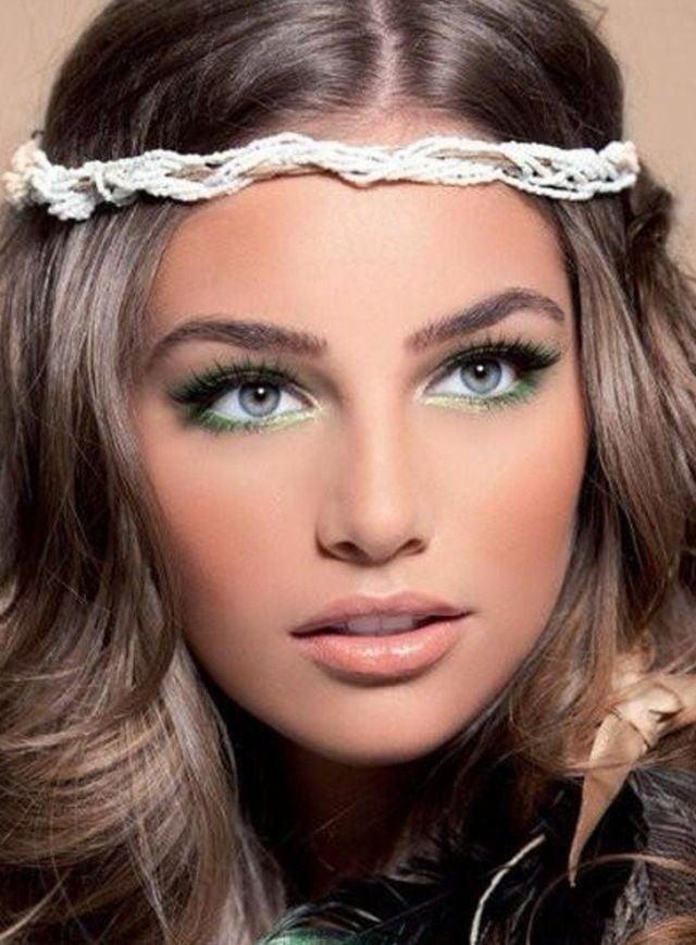 Machiaj fin pentru ochi albaștri, Foto: designmag.fr