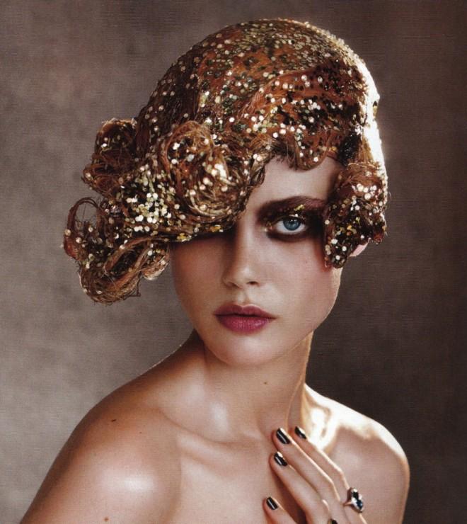 Machiaj glitter, Foto: sarah-sol.com