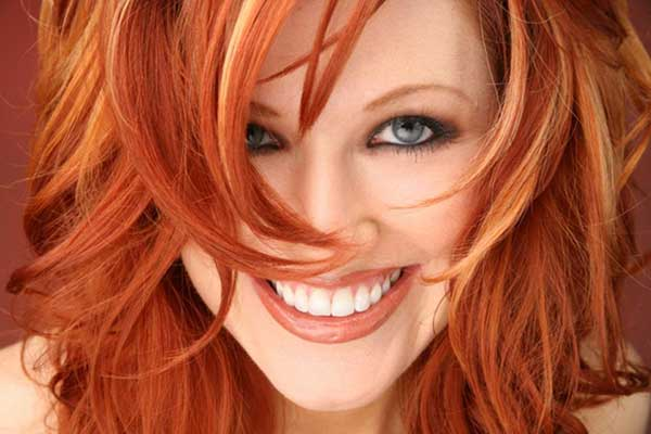 Machiaj pentru femei cu părul roșcat, Foto: riko.ru