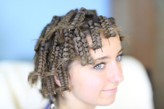 Mod interesant de coafare a părului, Foto: imageboard.co