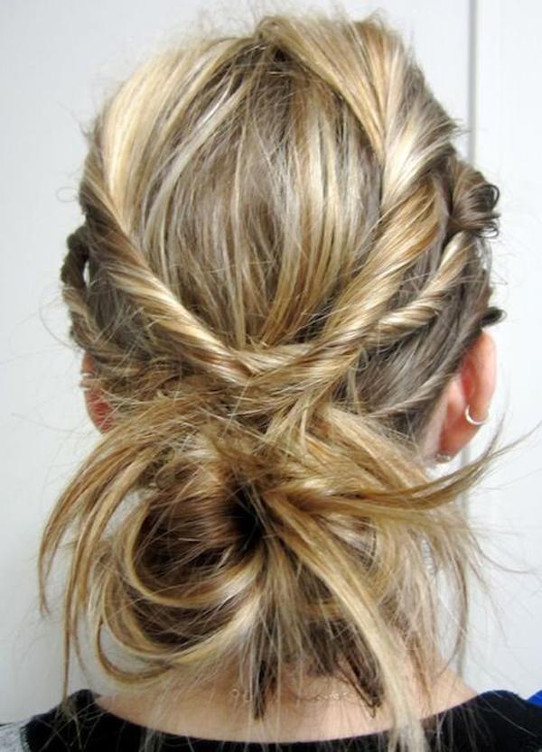 Mod interesant de prindere a părului, Foto: thesweetescape.ca
