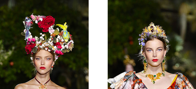 Moda Dolce&Gabbana în anul 2016, Foto: treshautediva.com