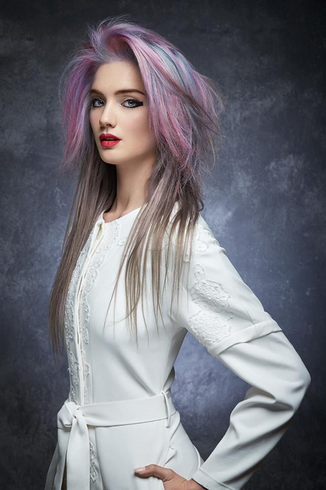 Nuanțe pastelate la păr, Foto: belloskbellos.com