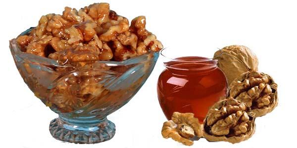 Nuci și miere, Foto: narodnayamedicina.com