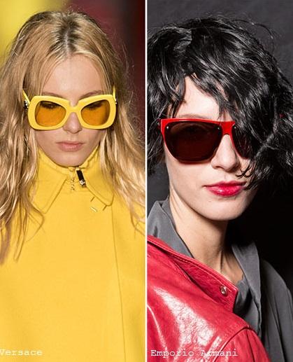 Ochelari de soare Versace, Armani, Foto: fabdallasmag.com