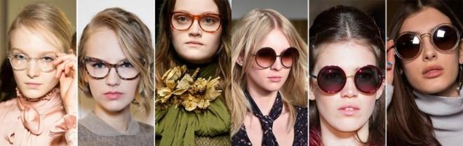 Ochelari de soare ca de secretară și cu formă rotundă, Foto: eaglevision.lt