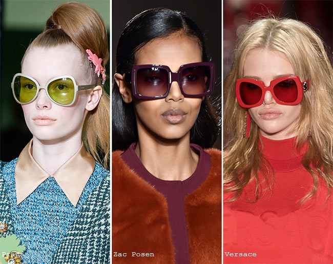 Ochelari de soare cu lentile colorate, Foto: andglasses.com