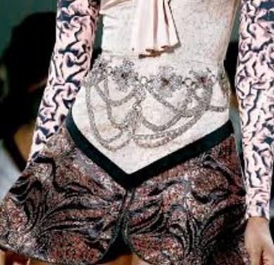 Ornamente peste haine, Foto: stylebing.com