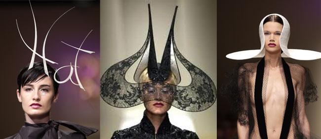 Pălării create de Philip Treacy, Foto: lovehats.com