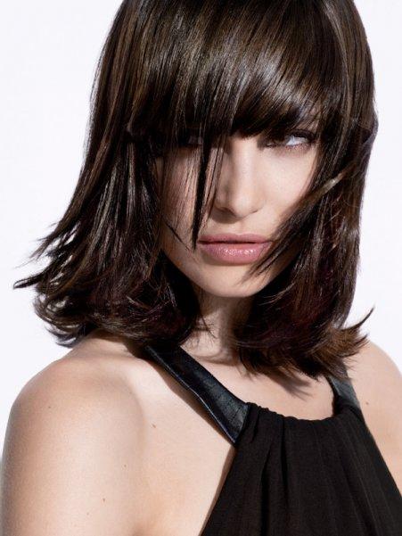 Păr brun, Foto: couleur-cheveux.com
