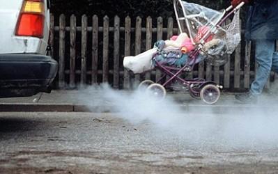 Poluarea mediului cu gazele de eșapament ale autovehiculelor, Foto: vkurse.ua