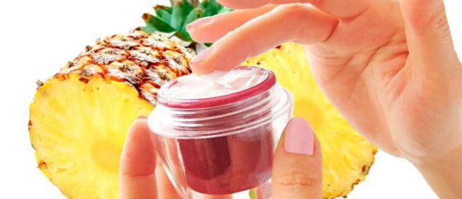 Produse cosmetice naturale din ananas pentru tratamentul pielii, Foto: golden-lotus.asia
