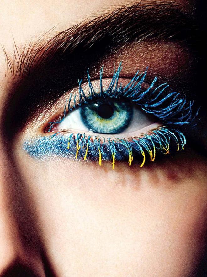 Rimel albastru și galben, Foto: lecahier.com