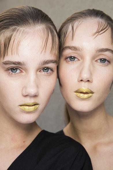 Ruj de aur pentru buze, Foto: vanityfair.it