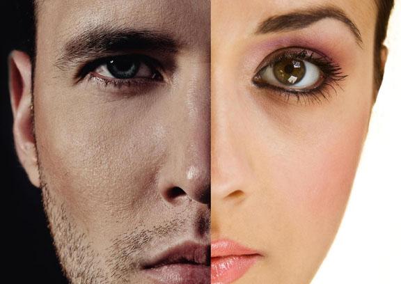 Sprâncenele la bărbați sunt mai groase și mai drepte decât sprâncenele la femei, Foto: joannabefree.blogspot.com