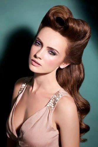 Stilul retro în mare vogă în acest an, Foto: unusual-hairstyles.com