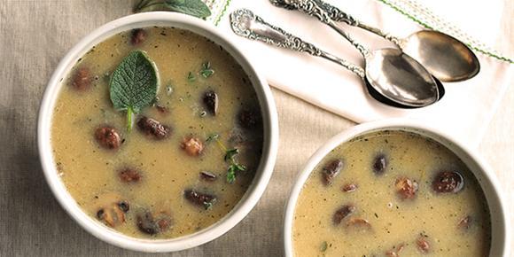 Supă cremă din castane, Foto: oliva-and-co.com