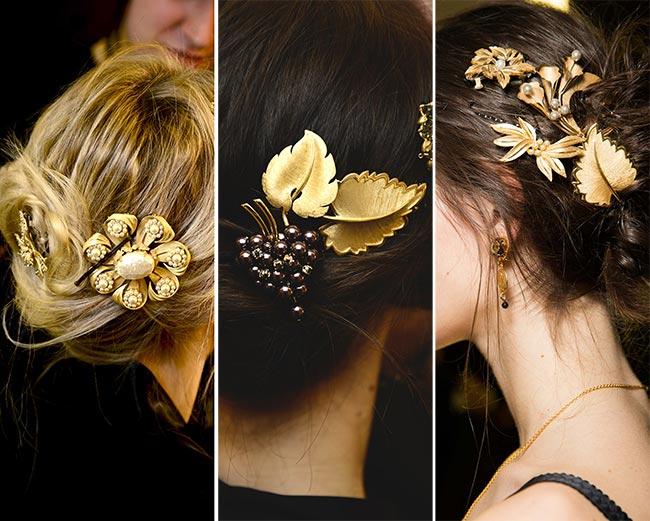 Tendințele modei la coafuri și accesorii de păr, Foto: fashionisers.com