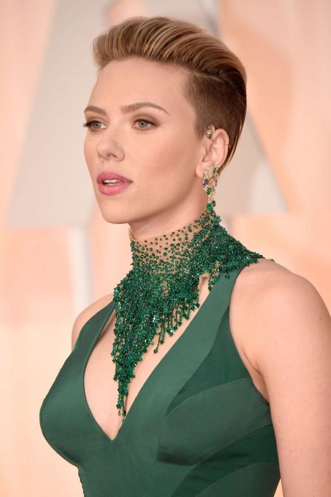 Tunsoare la Scarlett Johansson, Foto: beauty.ua