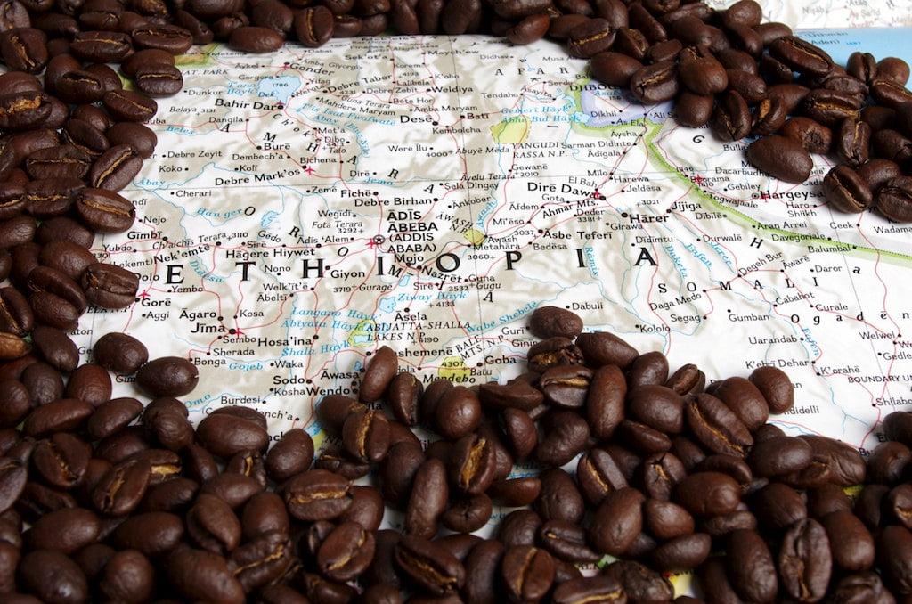 Cafea din Etiopia