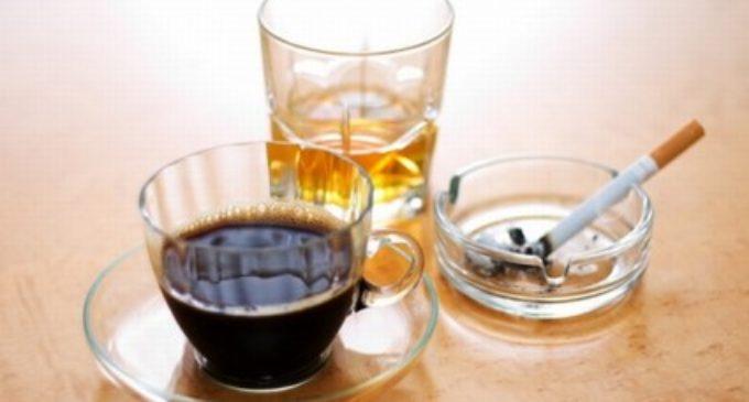 Cafea, tutun si alcool