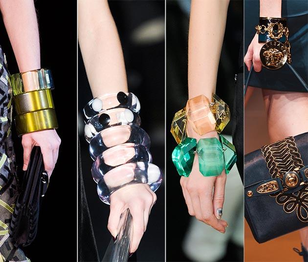 Brățări elegante la modă în anul 2015, Foto: behindthelooknyc.files.wordpress.com