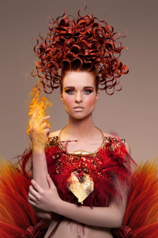 Coafură avangardistă, Foto: belloskbellos.com