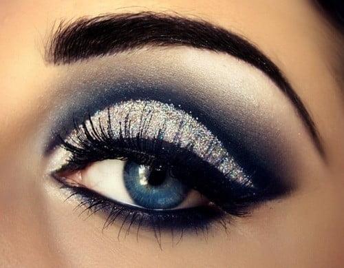 Machiajul smokey-eye strălucitor pentru seară, Foto: fashion360pk.com